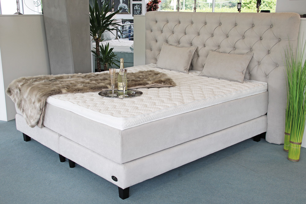 Boxspringbett Chesterfield